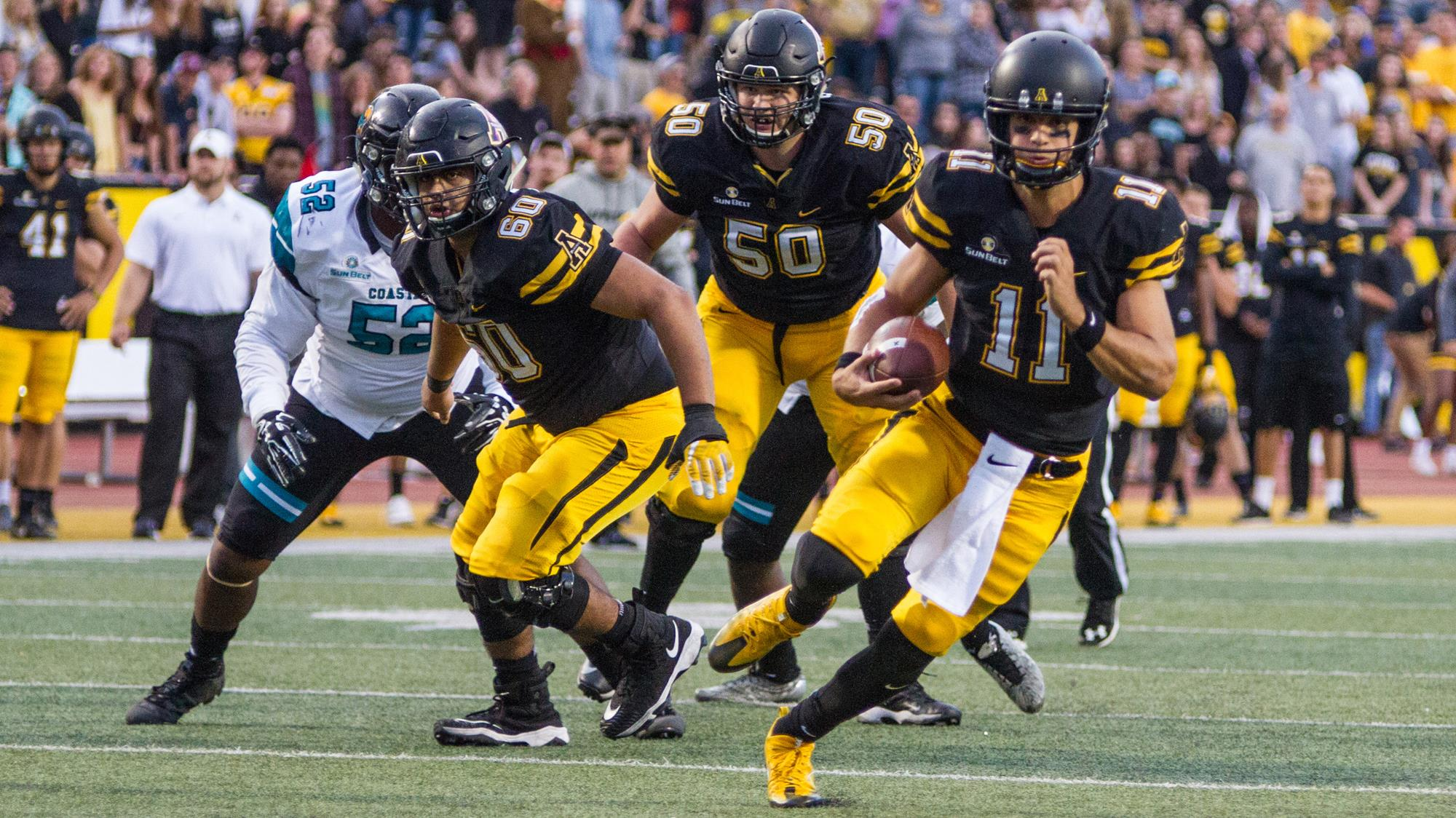 Lamb's Record-Setting Day Leads App State to SBC Win