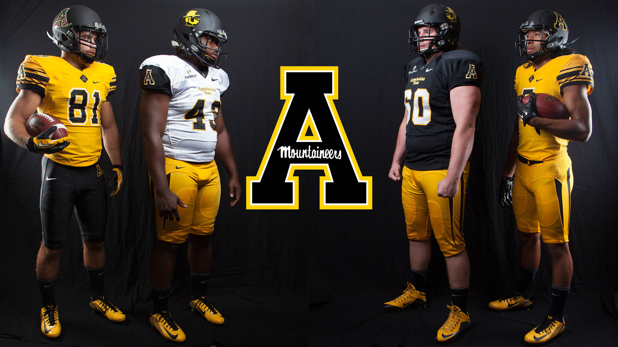 45dd0a354 Football Unveils New Uniform Combinations - Appalachian State ...