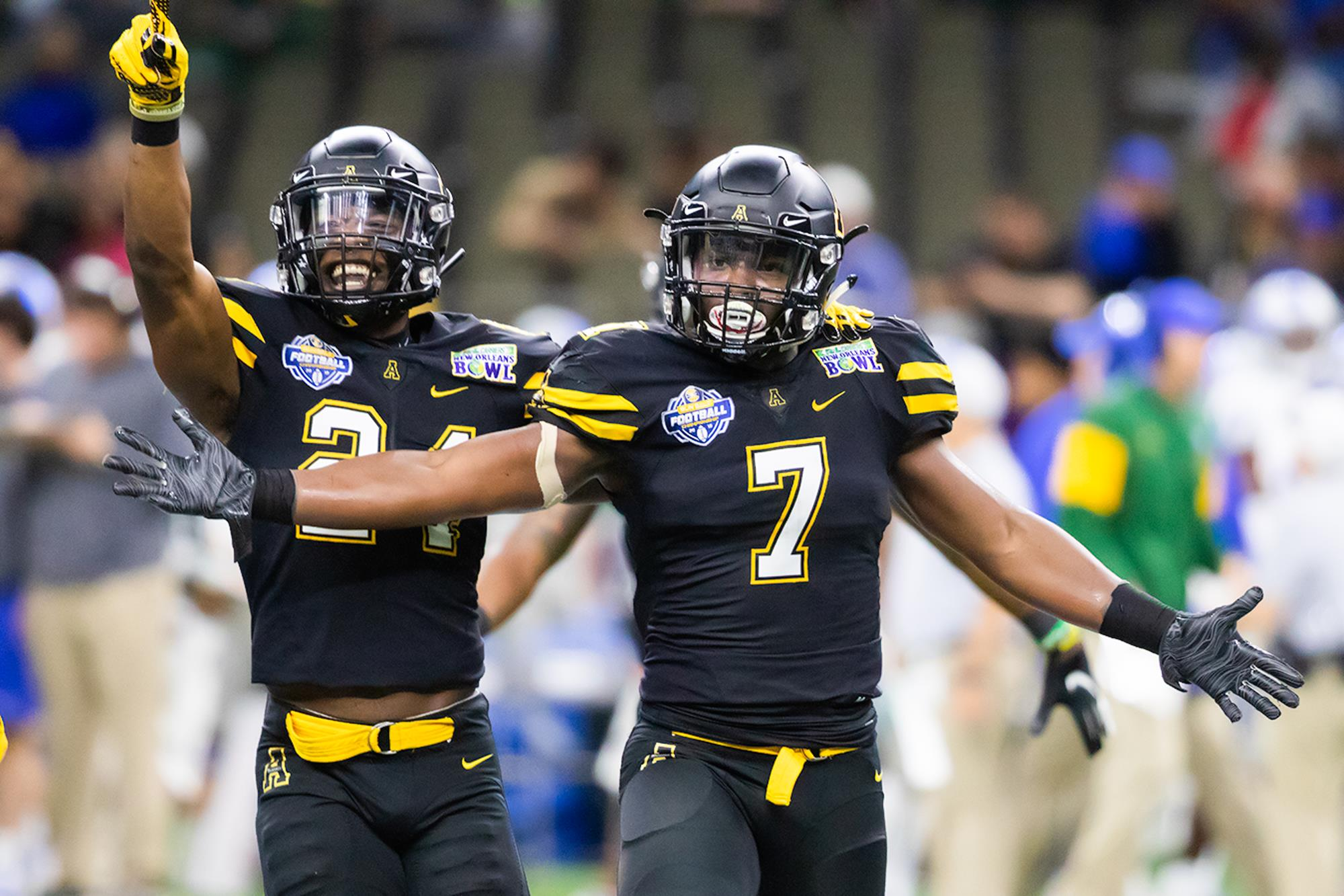 0856f9f9 App State Rolls To New Orleans Bowl Win - Appalachian State ...