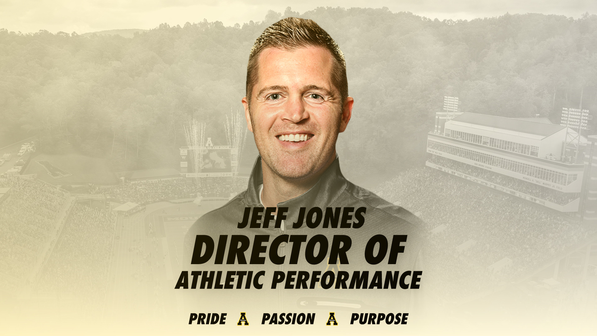 Jones to Oversee Football Strength and Conditioning - Appalachian