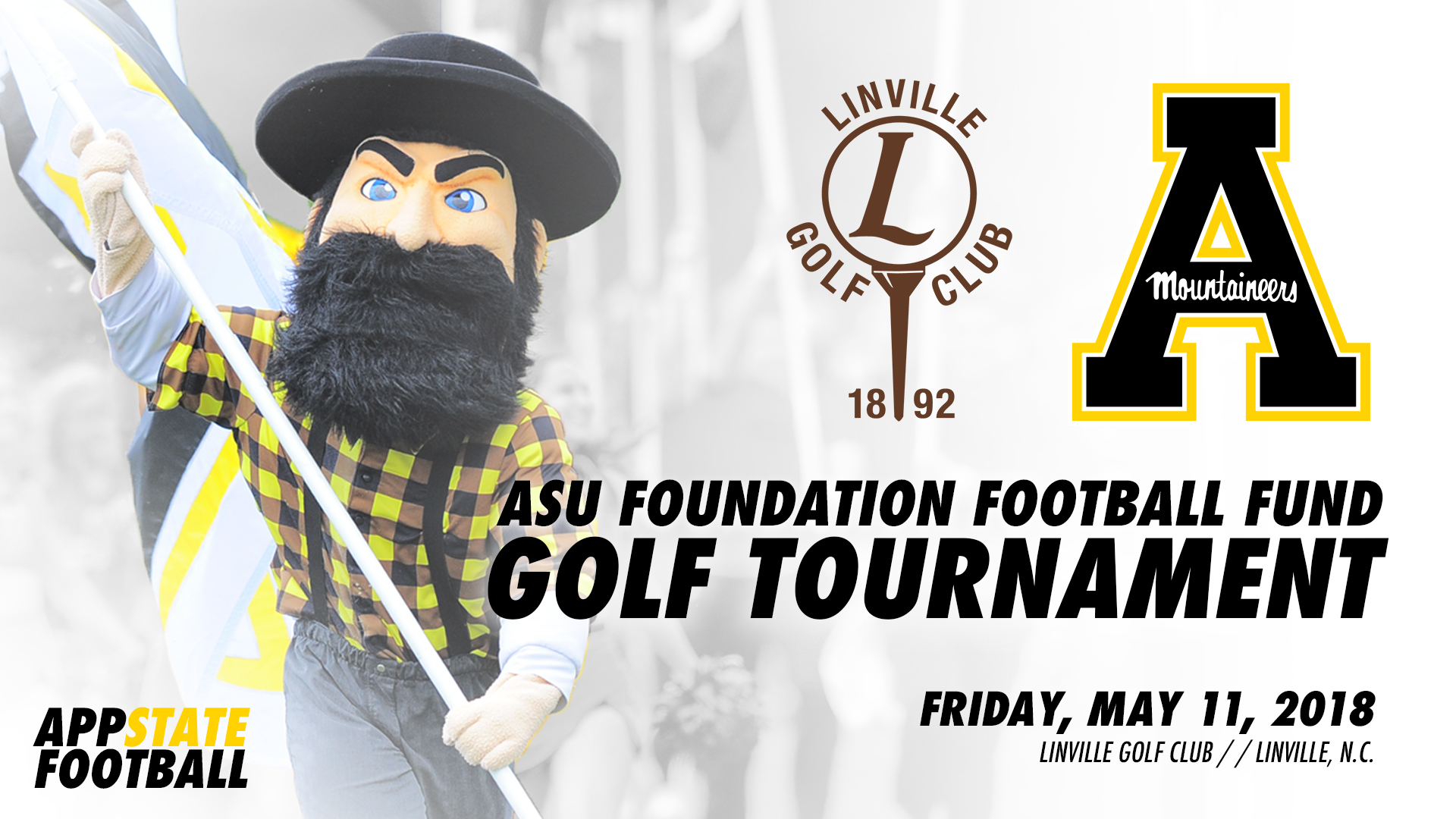 89765e63e5369 12th Annual App State Football Golf Tourney Set for May 11 ...