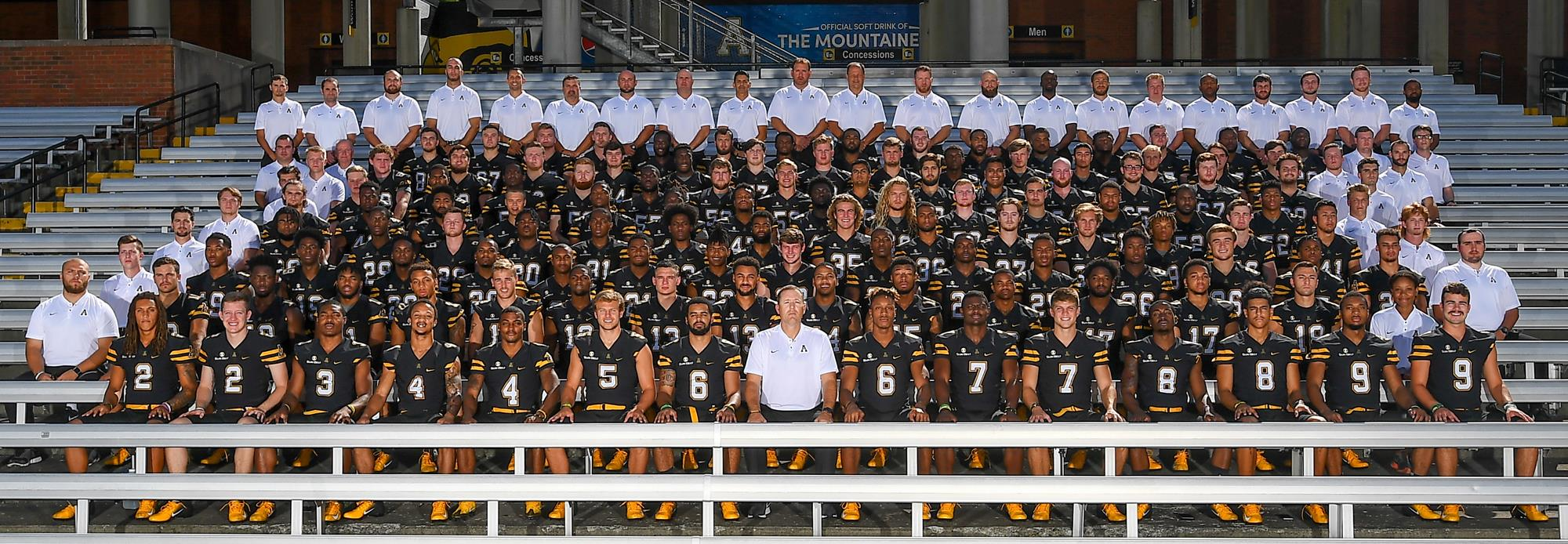 app state football roster 2005