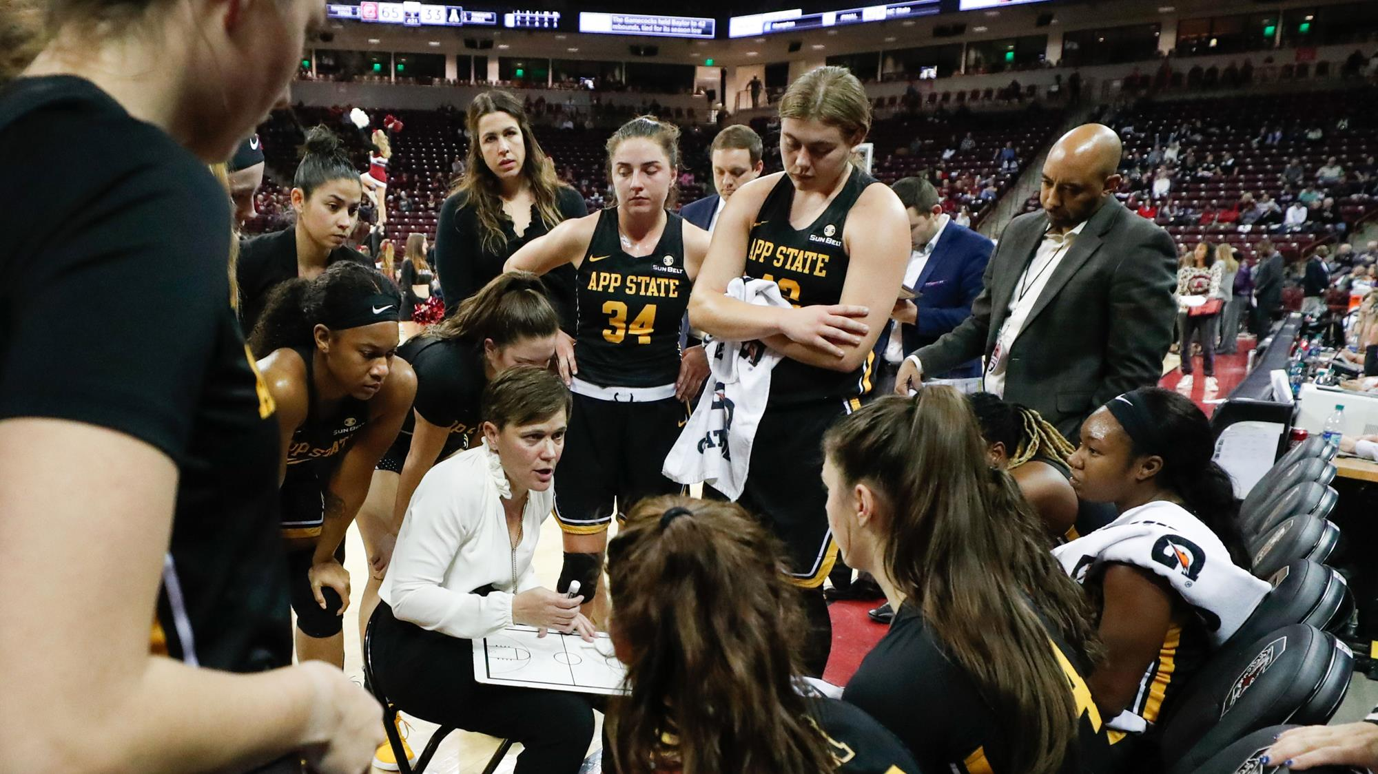 Women S Basketball To Participate In Play4kay Free Throw Challenge App State Athletics