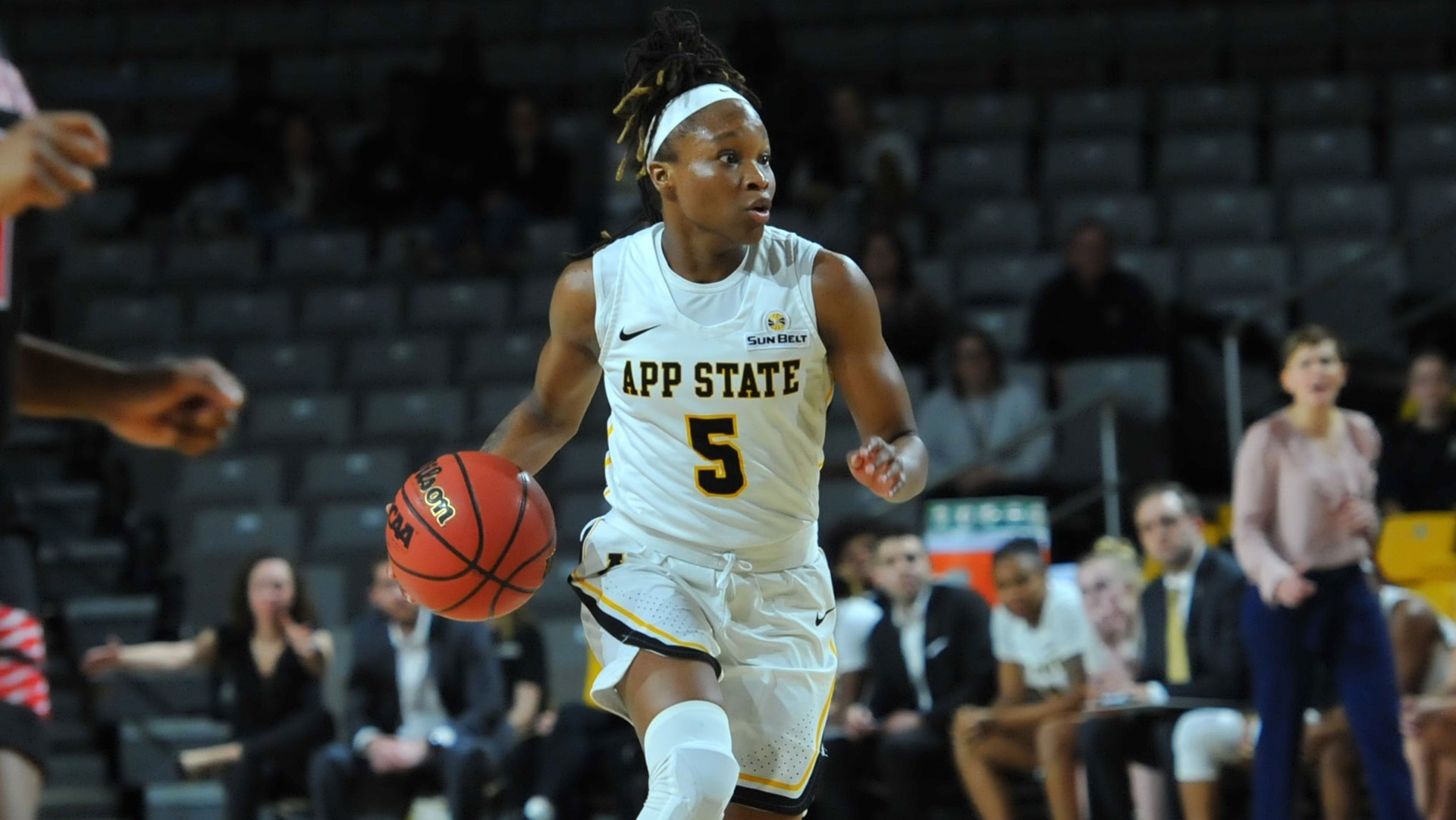 Women S Basketball Drops Road Contest To Troy App State Athletics